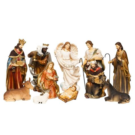 brubaker christmas nativity set 9 quot real life nativity