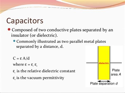 relationship between capacitor and energy capacitors