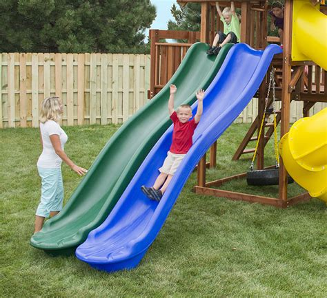 backyard playground slides outdoor slide gallery