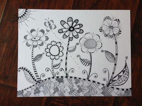 flower doodle quilt kit 748 best images about doodle tangle zentangle 1 on