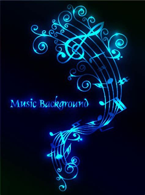 designing theme song set of musical backgrounds vector graphic 05 vector background vector free