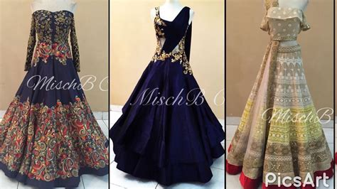 Top beautiful party gown designs for Engagement/heavy Embroidered dress designs for Engagement