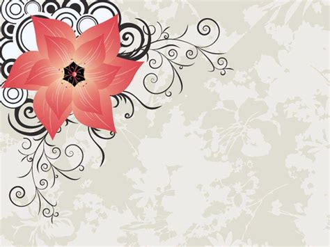 Stylish Backgrounds Wallpaper Cave Flower Powerpoint Templates