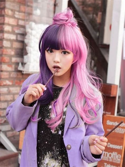 hairstyles half color 17 half and half hair colors that prove two hues are