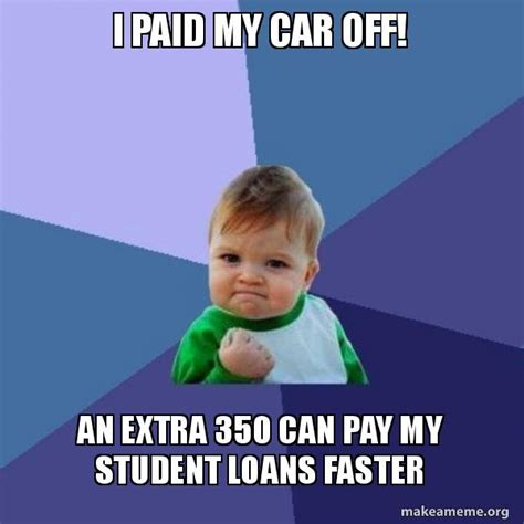 can i make my car payment with a credit card i paid my car an 350 can pay my student loans