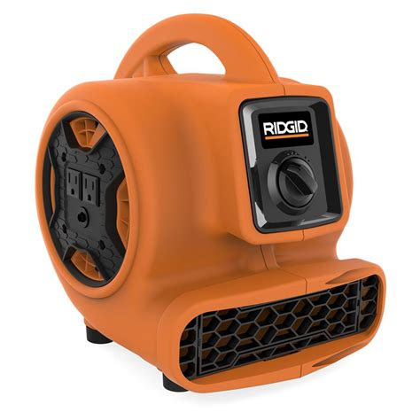 blower fan home depot ridgid 600 cfm blower fan air mover with chain