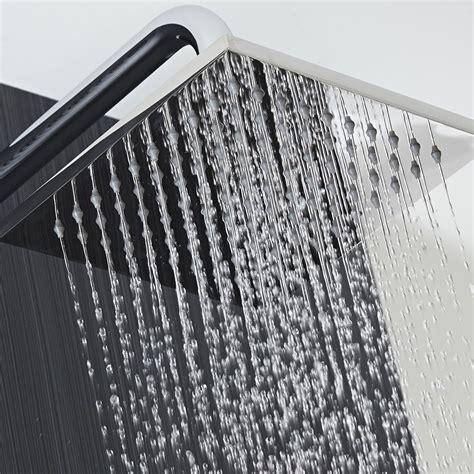 soffione doccia quadrato soffione quadrato 300 x 300mm in acciaio inossidabile