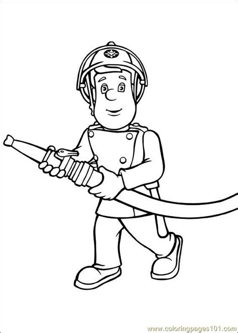 fireman sam coloring pages printable coloring pages