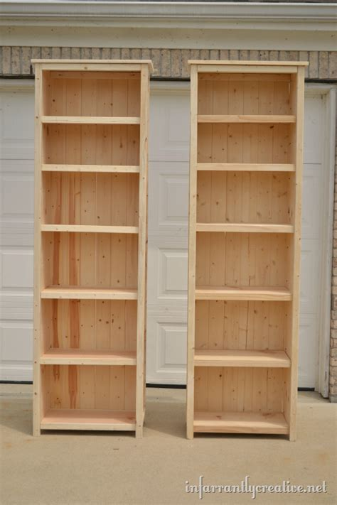 Build Bookcase how to make bookshelves