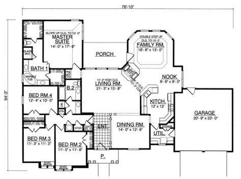 150 sq ft house plans traditional style house plan 4 beds 2 baths 2390 sq ft