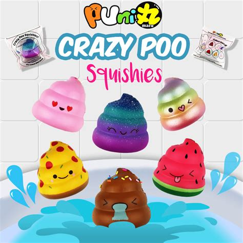 a squishy puni maru mini poo squishy collab with hollycopter