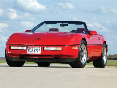how make cars 1987 chevrolet corvette head up display 1987 chevrolet corvette red convertible corvette fever magazine