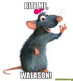 Bite Me Meme - bite me walason make a meme