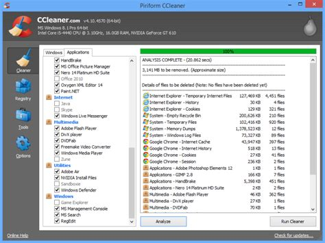 ccleaner builds ccleaner update supports new apps adds pro only scheduler