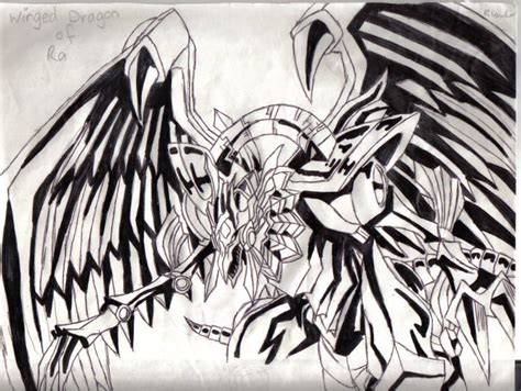 coloring pages winged dragon of ra yugioh winged dragon of ra coloring pages murderthestout