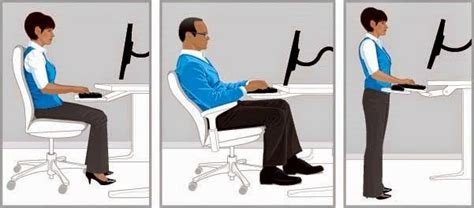 9 Ergonomic Tips For Synchronizing Your Work Station And Proper Standing Desk Posture