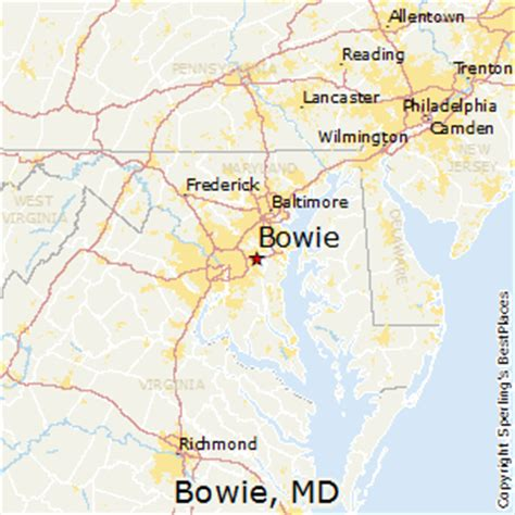 where is bowie on a map best places to live in bowie maryland