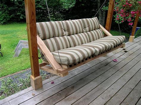 how to make a porch swing modern porch swing design images