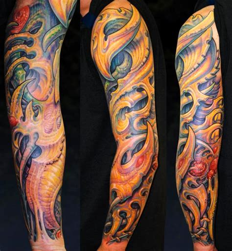 biomechanical tattoo guy aitchison jj biomech sleeve by guy aitchison tattoos