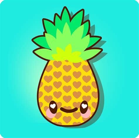 cute pattern drawings pineapple wallpaper patterns clipart panda free