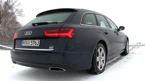 Audi A6 Avant Test by 2015 Audi A6 Avant 2 0 Tdi Ultra 190 Hp Test Drive