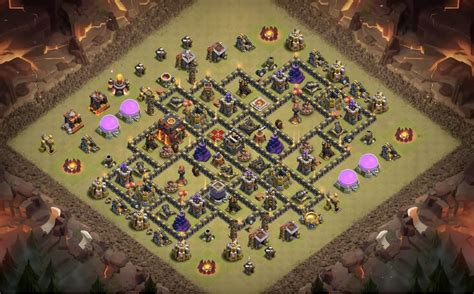 layout for th10 10 legendary th10 war base layouts farming base layouts 2017