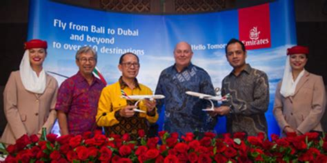 emirates to bali emirates connects denpasar to dubai