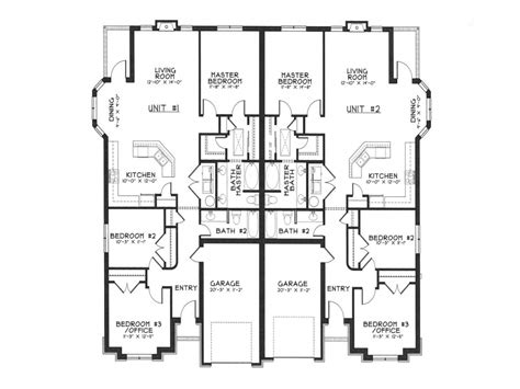 duplex home floor plans modern duplex house plans duplex house designs floor plans