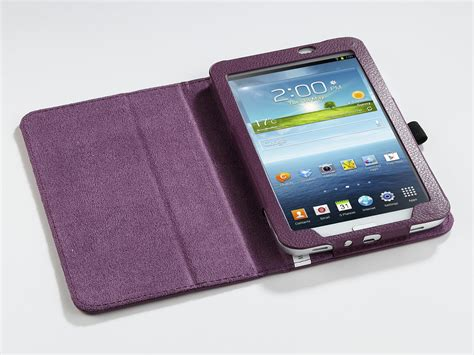 pu leather case cover stand  samsung galaxy tab
