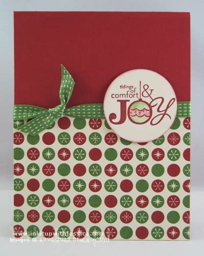 christmas comfort christmas card with card making tips ink it up with