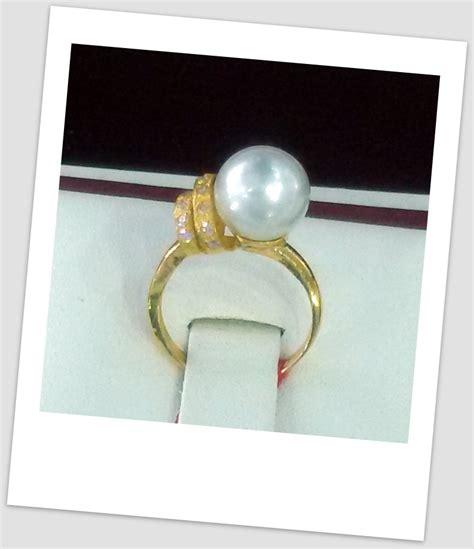 Cincin Rhodium Mutiara Lombok 43 model cincin terbaru harga mutiara lombok perhiasan toko