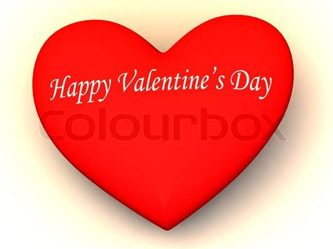 happy valentines day images 3d happy s day 3d stock photo colourbox