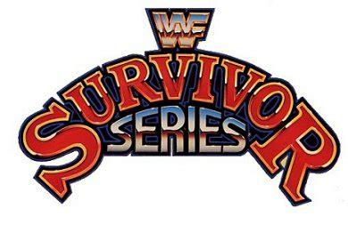 93 Series Logo wwf survivor series 1993