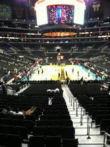 section 116 staples center staples center section 116 row 18 seat 1 los angeles