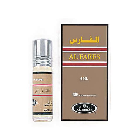 attar ml 011424 al fares 6ml halal from al rehab attar from mahir uk