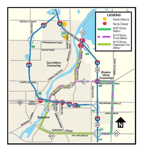 mdot construction map mdot traffic construction best traffic 2018