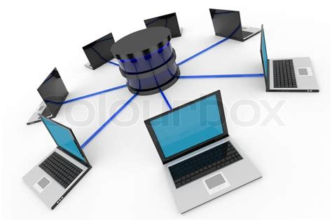Best Free Search Database Abstract Computer Network And Database Concept Computer Generated Image Stock