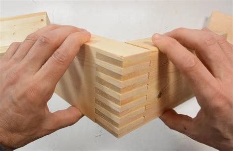 dado woodworking box joints without a dado blade