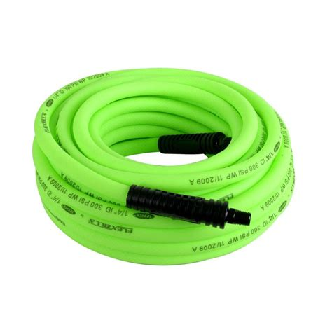 Flexzilla Garden Hose 100 Ft by Legacy 1 4 In X 100 Ft Premium Air Hose Hfz14100yw2 The Home Depot
