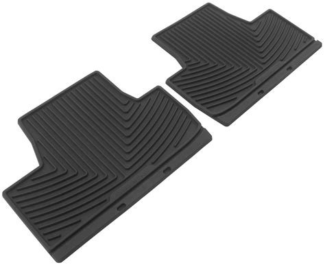 How To Clean All Weather Mats by Weathertech All Weather Rear Floor Mats Black