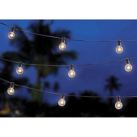 20 Bulb Solar String Lights Bed Bath Beyond 20 Bulb String Lights