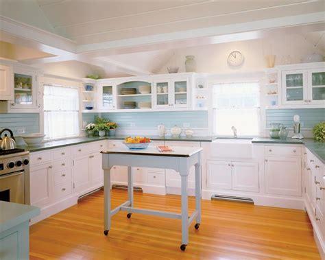 coastal cottage kitchens house tour chappaquiddick cottage