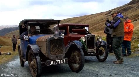beyond the graveled road travels and trials to a fuller books lakeland trial s vintage cars tested to the limit along