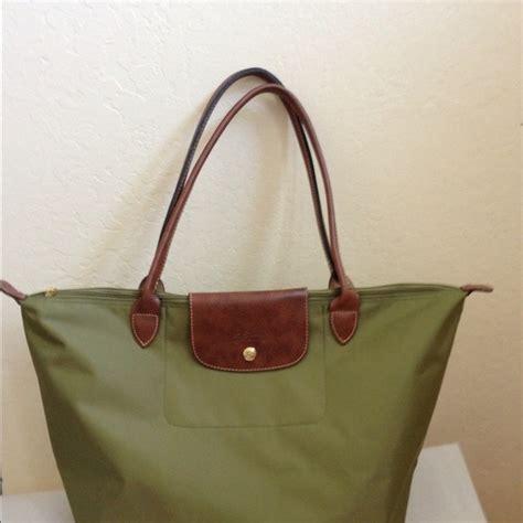 longch handbags le pliage tote bag olive green large poshmark