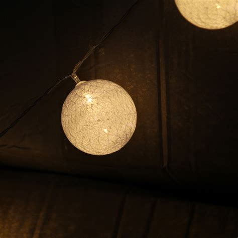Medisoft Cotton 120 Balls 120 x warm white cotton led string lights lantern wedding ebay