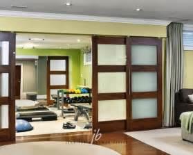 doors contemporary living room