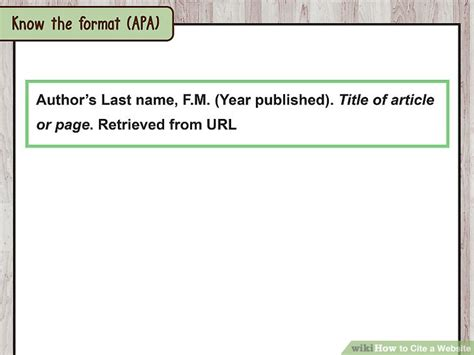 cite  website  sample citations wikihow