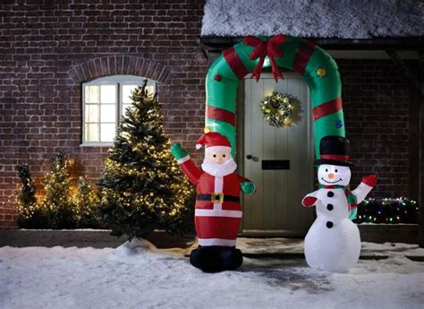 aldis christmas decorations aldi ireland s decoration range includes 7ft arch