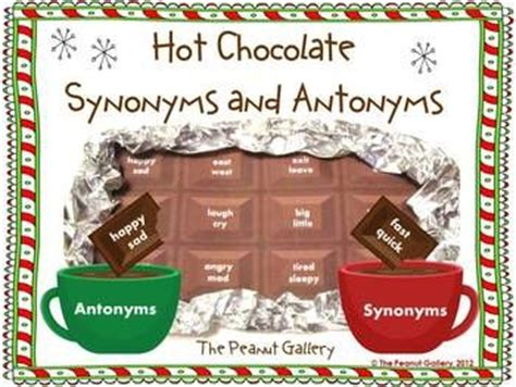 Theme Synonym And Antonym | 105 best images about winter new year art projects and