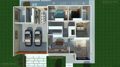 plantas casas plantas de casas e projetos de casas barbara borges projetos